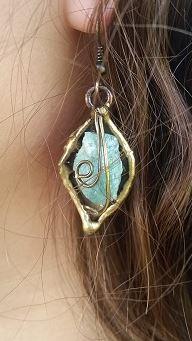 Earrings by Nilson