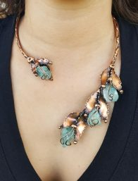 Copper Necklaces by Nilson