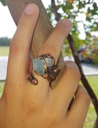 Copper Rings by Nilson