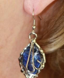 Brass Earrings by Nilson
