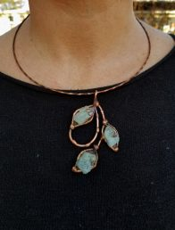 Copper Pendants, Chains and Chokers by Nilson