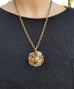 Brass Pendants, Chains and Chokers by Nilson